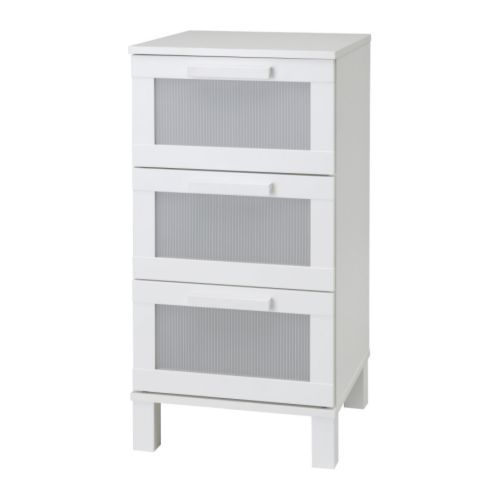 Aneboda 3 Drawer Chest White 49 99