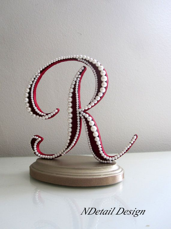 wedding cake topper letter r wedding cake topper monogram letter r in by 26350