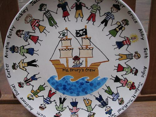 pirate plate | Flickr - Photo Sharing!