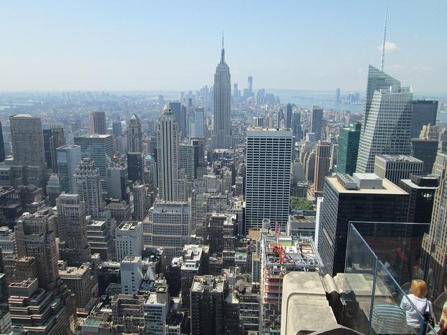 Top of the Rock, Rockefeller Center, NYC. Nueva York by voces, via Flickr