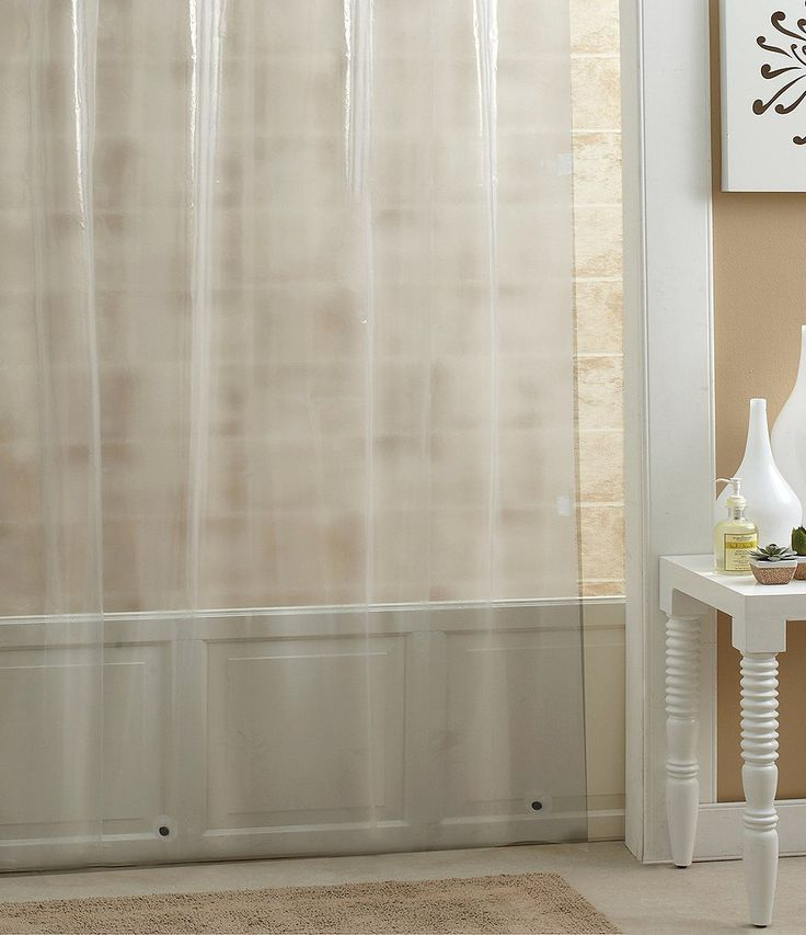 noble excellence 72double heavy weight peva shower curtain liner
