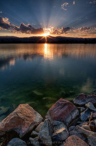 ~~Coot Lake Sunset II ~ Boulder, Colorado by Jeff Beard~~