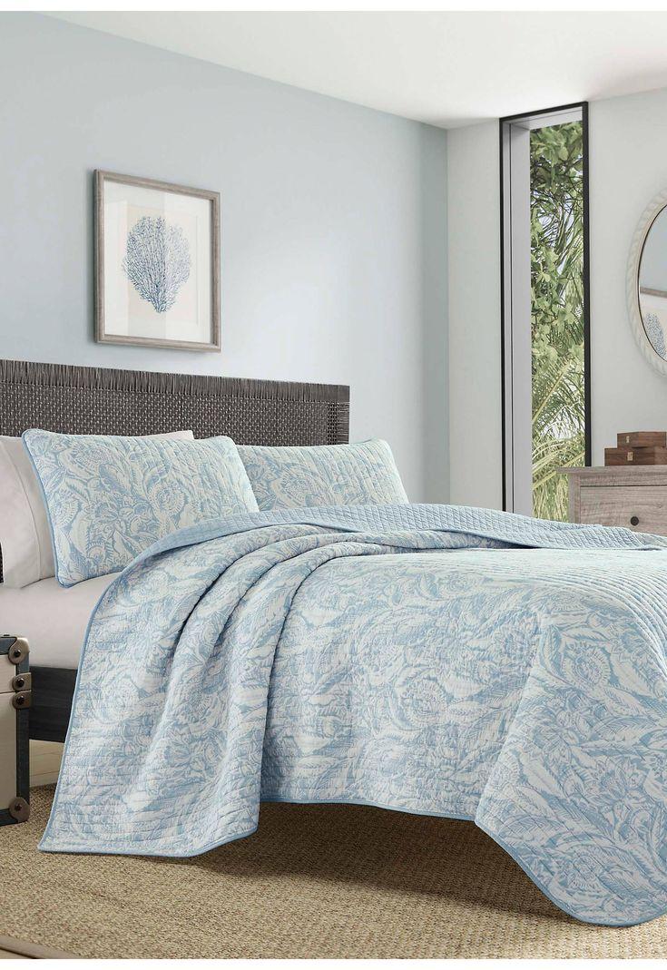 Tommy Bahama® Batik Paisley Quilt Set Paisley quilt