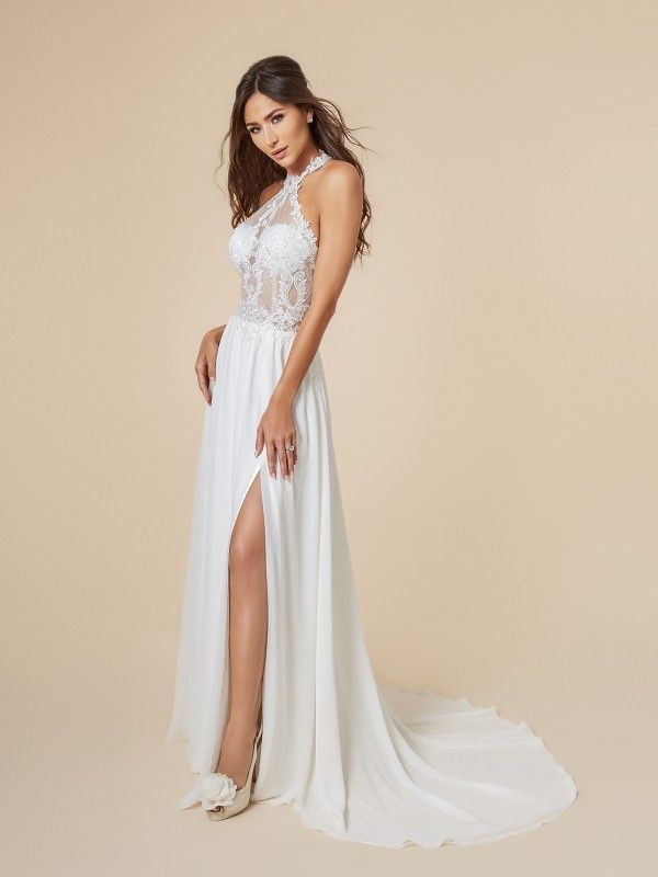 Flirty Beach Wedding Dresses