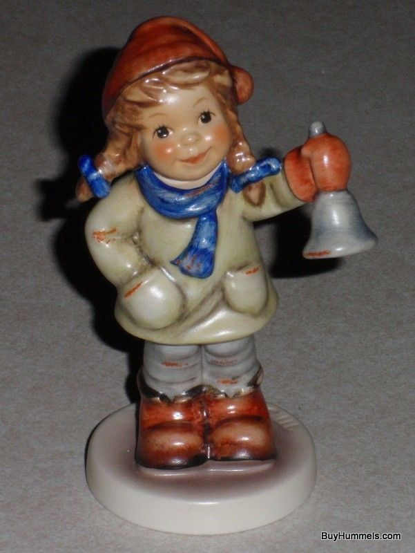Ring In The Season Goebel Hummel Figurine #2073/A TMK8 From 2001 CHRISTMAS GIFT!
