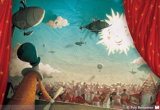 Poly Bernatene | Ilustradores Argentinos