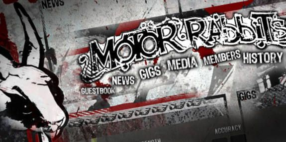 #Rock'n'Roll Band #Logo and Webdesign #Motorrabbits