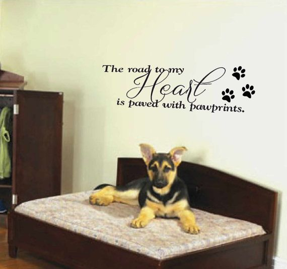 Best Vinyl Wall Decals About Pets Images On Pinterest Art - Custom vinyl wall decals dogs