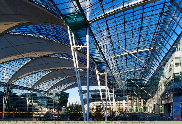 Flughafen Franz-Josef-Strauß, München, Oberbayern, Bayern, Deutschland