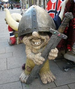 Norwegian troll. I have the smaller verse of this troll!