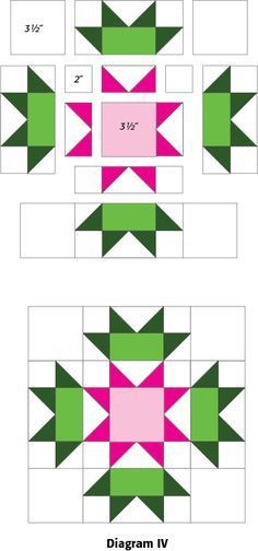 Connemara: FREE Ireland-Themed Quilt Block Pattern. This website also has a ton of other fun block tutorials!