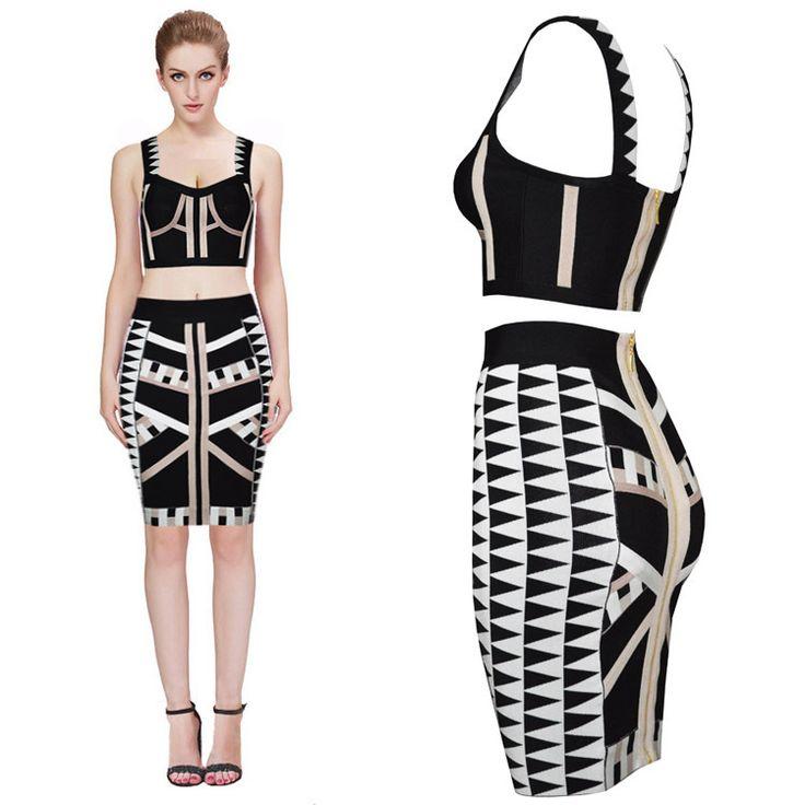17 best 2 piece bandage dresses images on pinterest