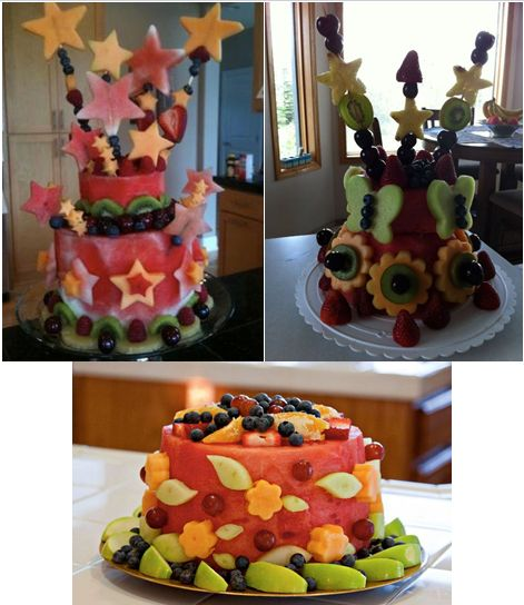 ... birthday ideas birthday cakes watermelon cakes fruit cakes fun fruit