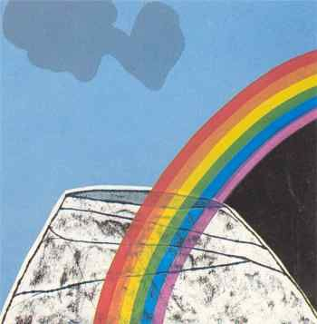 Pat Hanly - Rainbow Over Mt Eden