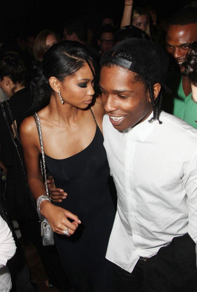 Chanel Iman & Asap Rocky