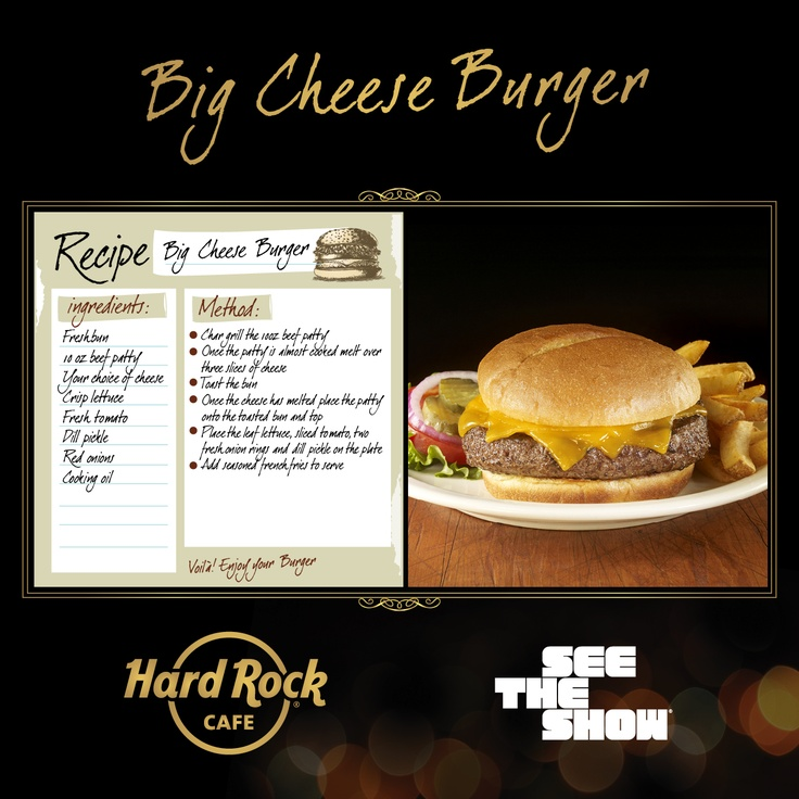 Hard Rock Cafe Hickory Bbq Bacon Cheeseburger Recipe