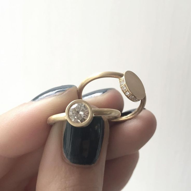MORE | DIAMONDS…  18kt gold and a lot of diamonds 💎 need I say more? #diamondsareagirlsbestfriend _____________ #jannikrogh #copenhagenring #gold #guld #18k #diamond #0,5ct #handmade #håndlavet #jewellery #jewelry #smykker #danishdesign #danskdesign #scandi #scandinaviandesign #skandinaviskdesign  #ibyen #copenhagen #denmark #jewelrydesign #jewellerydesign #design #fashion