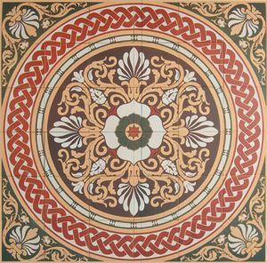 Floor Tiles Victorian Era Design Motifs Victorian