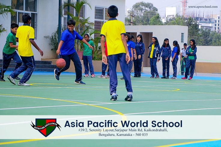 #APWS #KrupanidhiGroupofInstitution  Asia Pacific World School, sporting facilities have been planned with exacting attention to detail. The campus provides exclusive integrated sports facilities like Indoor and Outdoor sports , build a student's character, self-confidence, team spirit and physical fitness.  #JoinUs  Contact Us at : 9900088456 Mail us at : admissions@apwschool.com Visit us at :http://www.apwschool.com/  Follow and LIKE us here : https://www.facebook.com/apws.in/