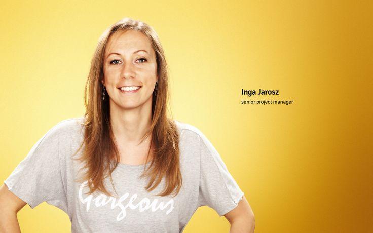 Inga Jarosz senior project manager