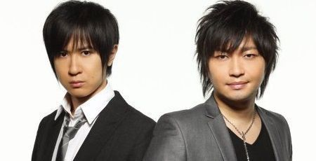 The two bros of Japanese voice acting, Tomokazu Sugita and Yuichi Nakamura.