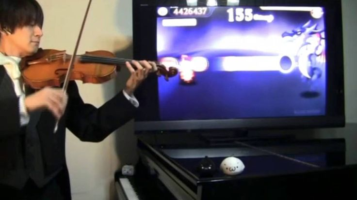 【FF7】片翼の天使をヴァイオリンで演奏【岡田鉄平】