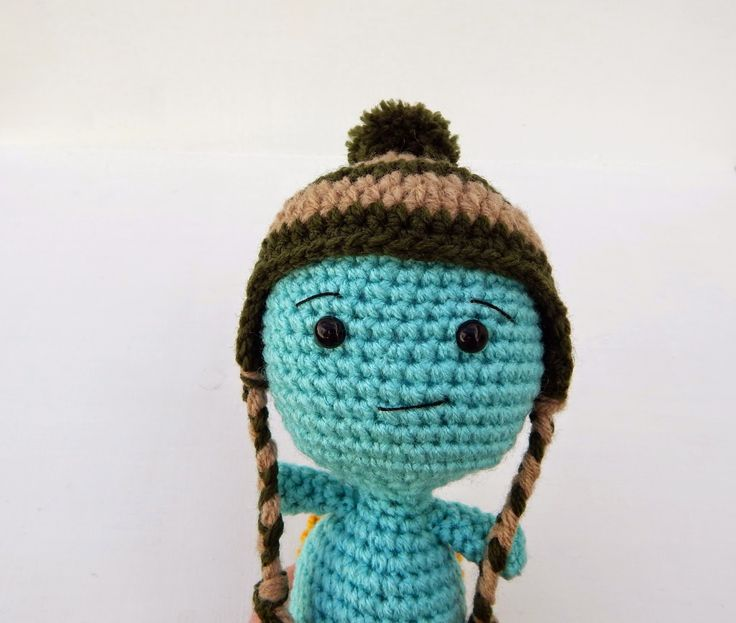 Little turtle amigurumi - free crochet pattern