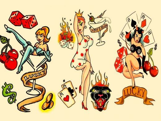 21 best images about rockabilly on pinterest sailor jerry rockabilly tattoo designs and. Black Bedroom Furniture Sets. Home Design Ideas