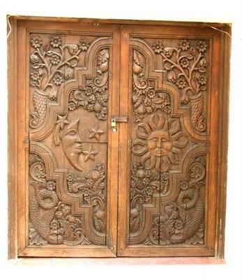 Carved Door India