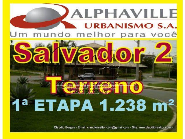 Terreno Localizado no bairro Alphaville II de Salvador