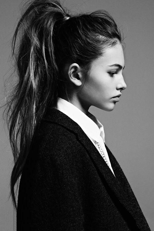 Thylane Blondeau for Jalouse Magazine, April 2014 Photographed by: Stian Foss…