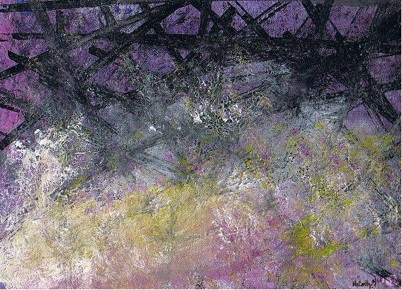 BARRICADE  Original Painting  Art by Michael Angelo by HyperArtist, $65.00