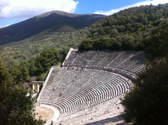 Teatro de Epidauro, Peloponeso (Grecia)