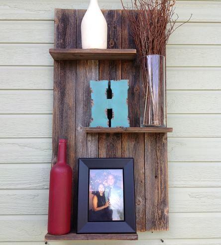 Reclaimed Wood Wall Shelf by Del Hutson | Scoutmob Shoppe |