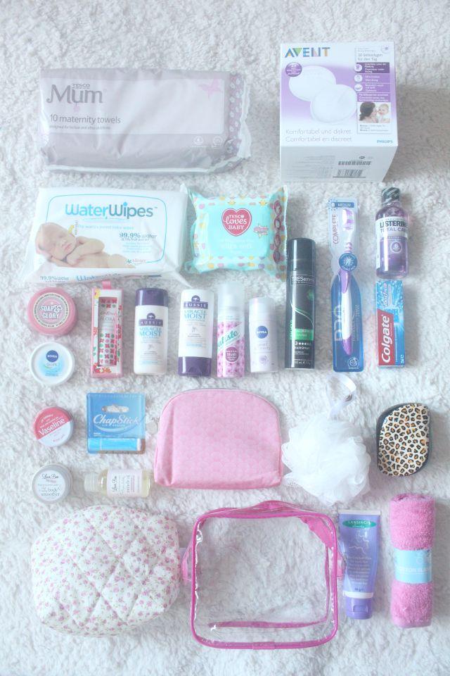 My Hospital Bag Essentials & Win A £100 Mamas & Papas Voucher