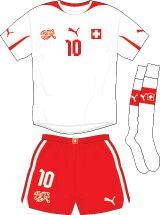Switzerland | away jersey | 2012-2013