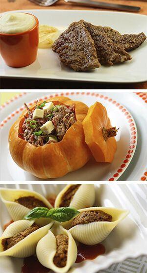 Receitas com pouca gordura, suculentas e saudáveis por Academia da carne Friboi