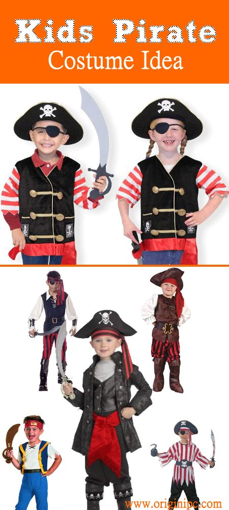 Top Pirate Boy Kids Halloween Costume - most popular pirate costume for kid
