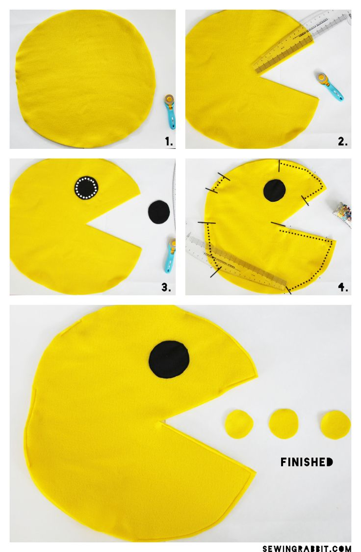 DIY Pac-Man Costume via @mesewcrazy