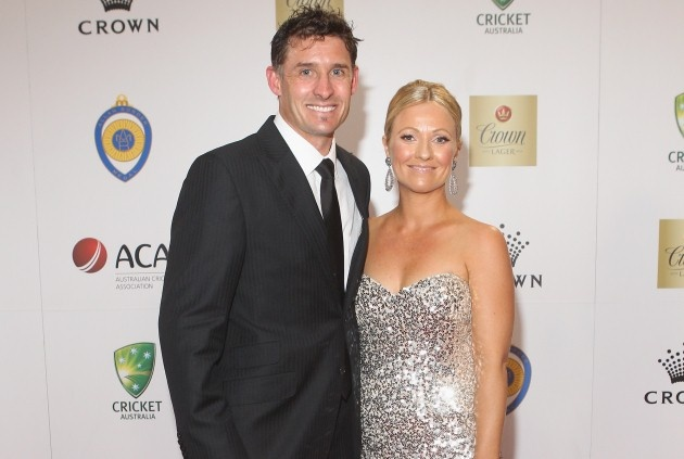 Mike and Amy Hussey
