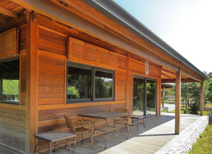réalisation villa en bois de 100m²