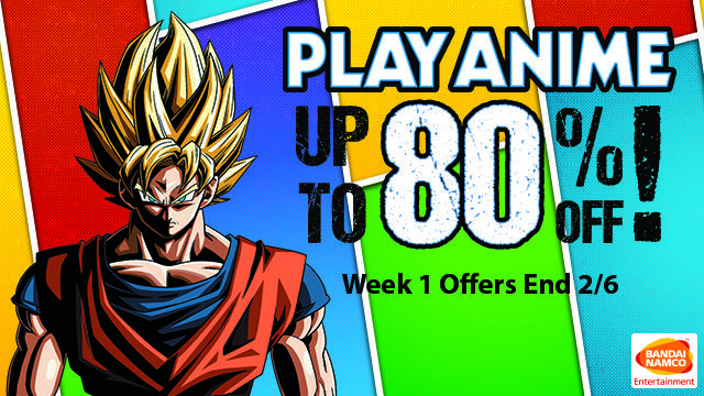 Play Anime: Save up to 80% on Bandai Namco Games #Playstation4 #PS4 #Sony #videogames #playstation #gamer #games #gaming