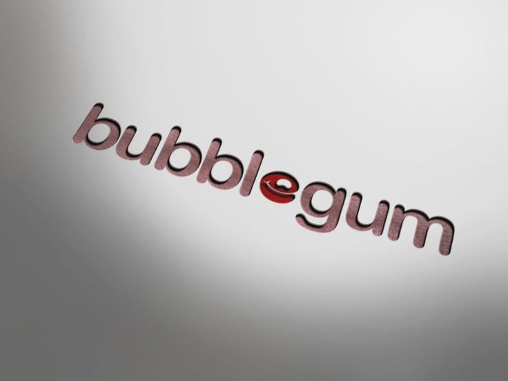 Bubblegum. Designed at 2012
