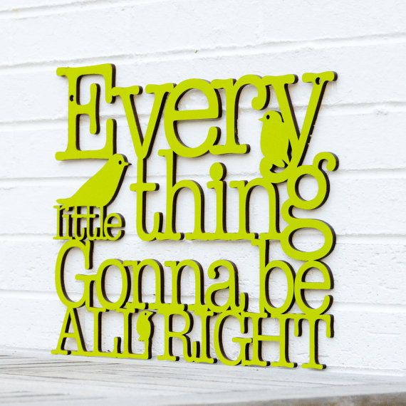 """Could we do this with """"here comes the sun"""" ??    Every Little Thing Gonna Be All Right Bob Marley by spunkyfluff, $48.00"""
