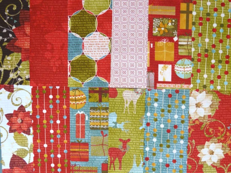 Zestaw tkanin na patchwork 12 sztuk x (25cmx26cm)