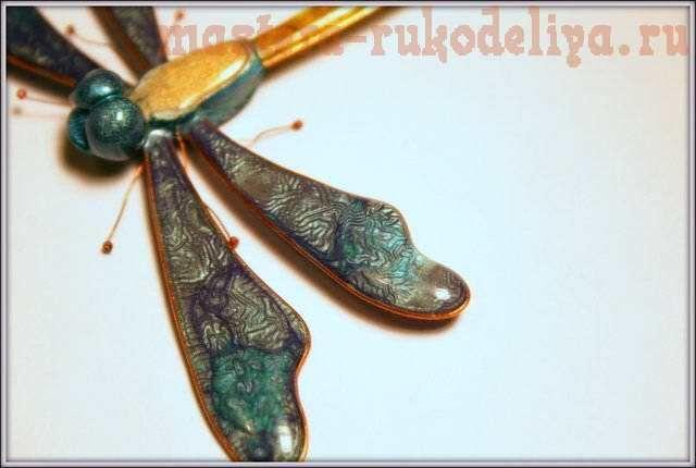 Tutorial - Liquid Fimo + Prisma Fantasy Ink Butterfly Wings. ||  Мастер-класс по работе с полимерной глиной: Волшебные крылья