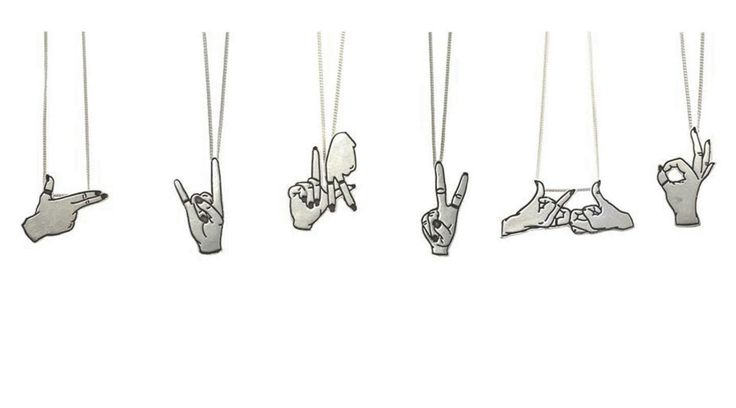 Famous Fingers. sterling silver & bronze available.