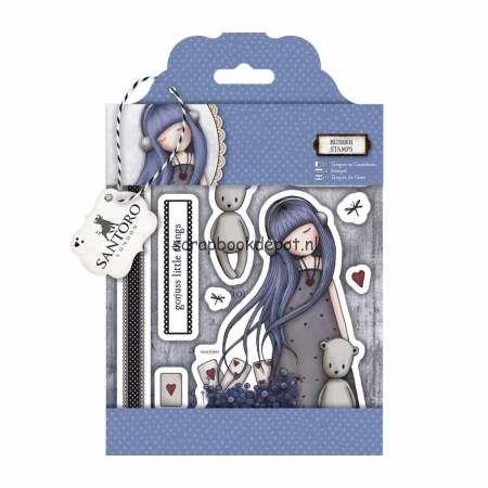 Gorjuss Santoro - Dear Alice rubber stamp