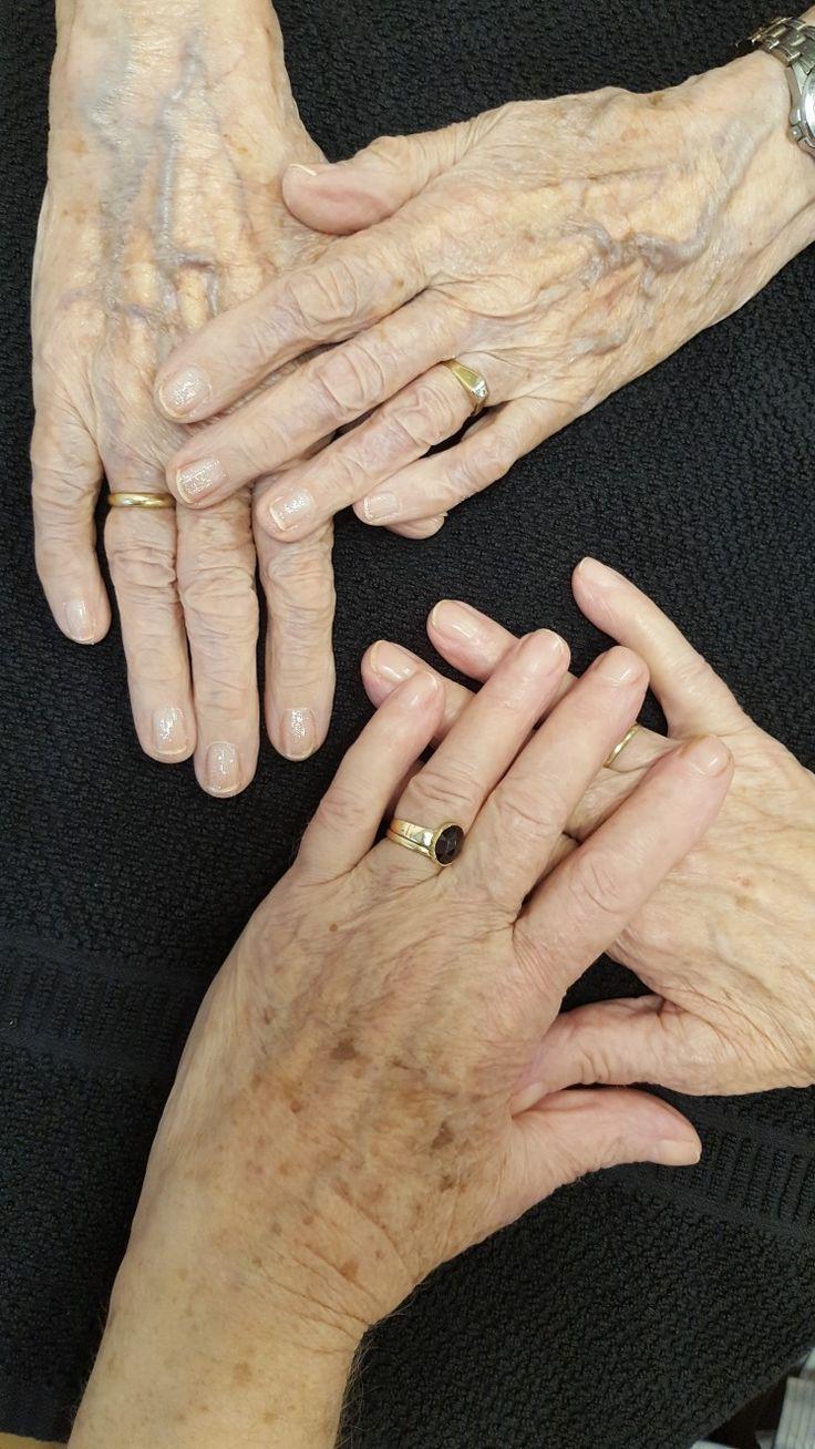 Elderly ladys and polish