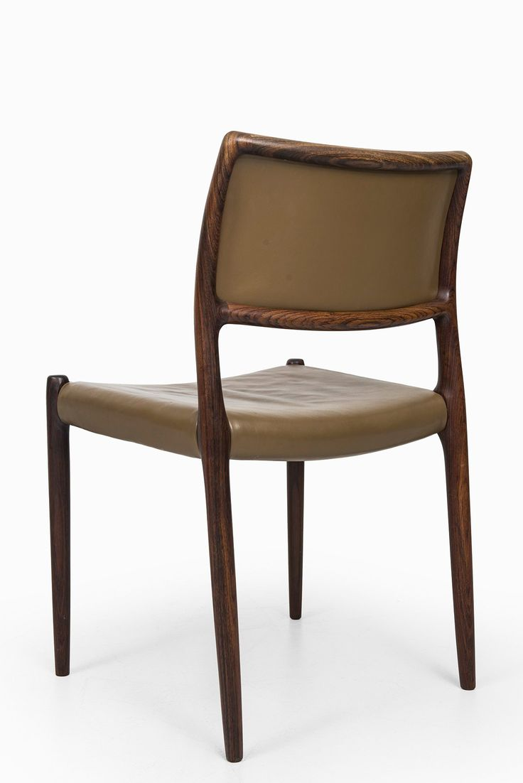 Niels O. Møller dining chairs model 80 at Studio Schalling